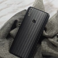 rear stickers wrap skin 8 colors decorative back film for vivo y85 mobile phone protector vivo y85 frosted back carbon fiber