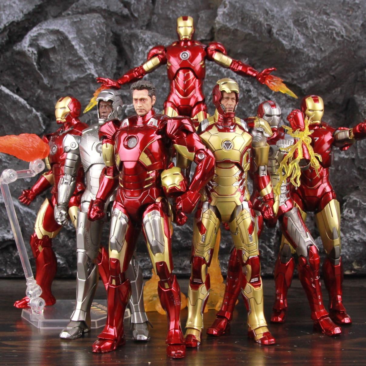 Marvel Iron Man MK42 MK2 MK3 MK4 MK5 MK6 MK7 7