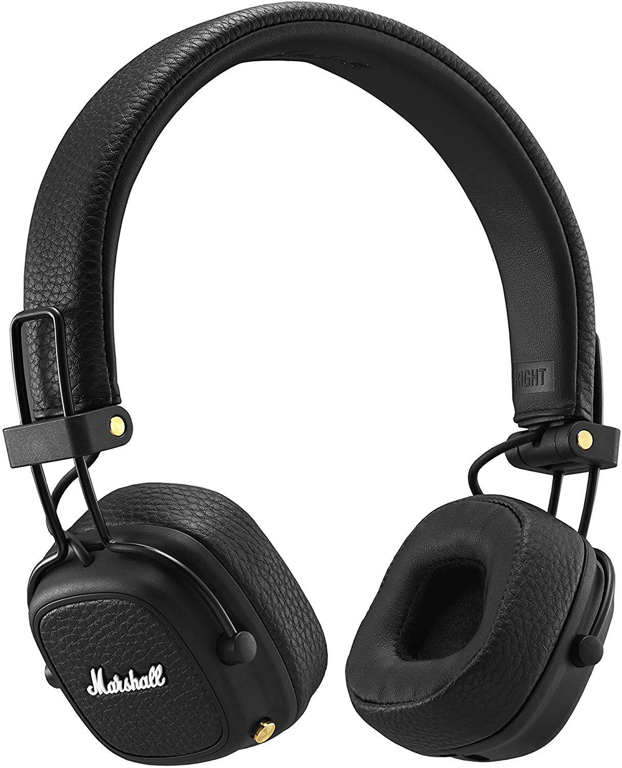 New Major III Wireless Bluetooth Headphone For Pop Rock Music With Leather Microphone Bass Effect enlarge