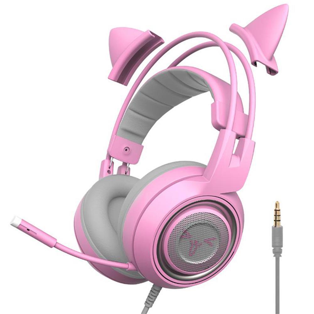 SOMIC-auriculares G951S/G952S con cable, cascos por encima de la oreja de 3,5mm...