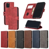 luxury leather flip phone case for iphone 13 12 11 pro max xr x xs se 2020 6 7 8 plus wallet card slot cover shockproof funda