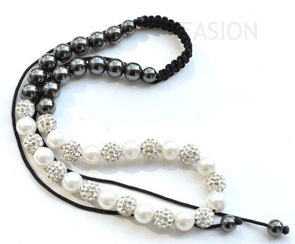 ¡Precio más bajo! 10mm precio de fábrica EONS Hotsale Micro Pave bolas de discoteca Collar para mujer joyería cristal