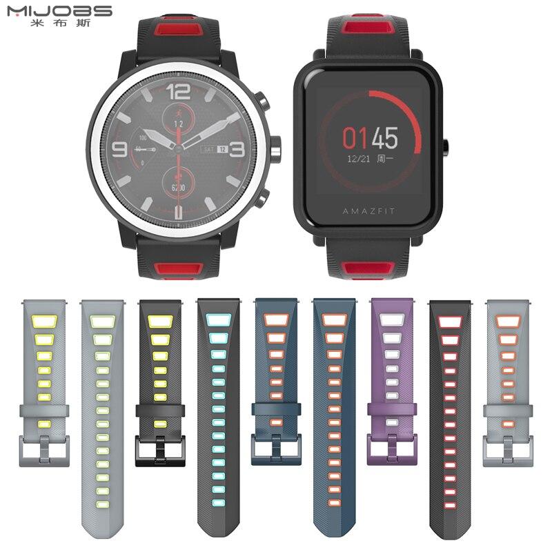 For Huami Amazfit GTS Strap Bip GTR Stratos Pace Sports Wristband Bracelet Accessory For Xiaomi Watch Band Bracelet Wrist