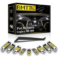 bmtxms canbus for subaru legacy 3 be be5 be9 bh bh5 bh9 sedan wagon 2000 2003 vehicle led interior light license plate lamp