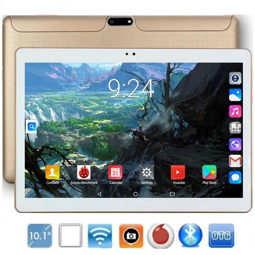 10 pulgadas Tablet Pc 10 Core RAM 6GB ROM 128GB IPS 4G llamada telefónica Lte Tab Wifi GPS Bluetooth Android 8,0 Tablet 10,1 tablet android