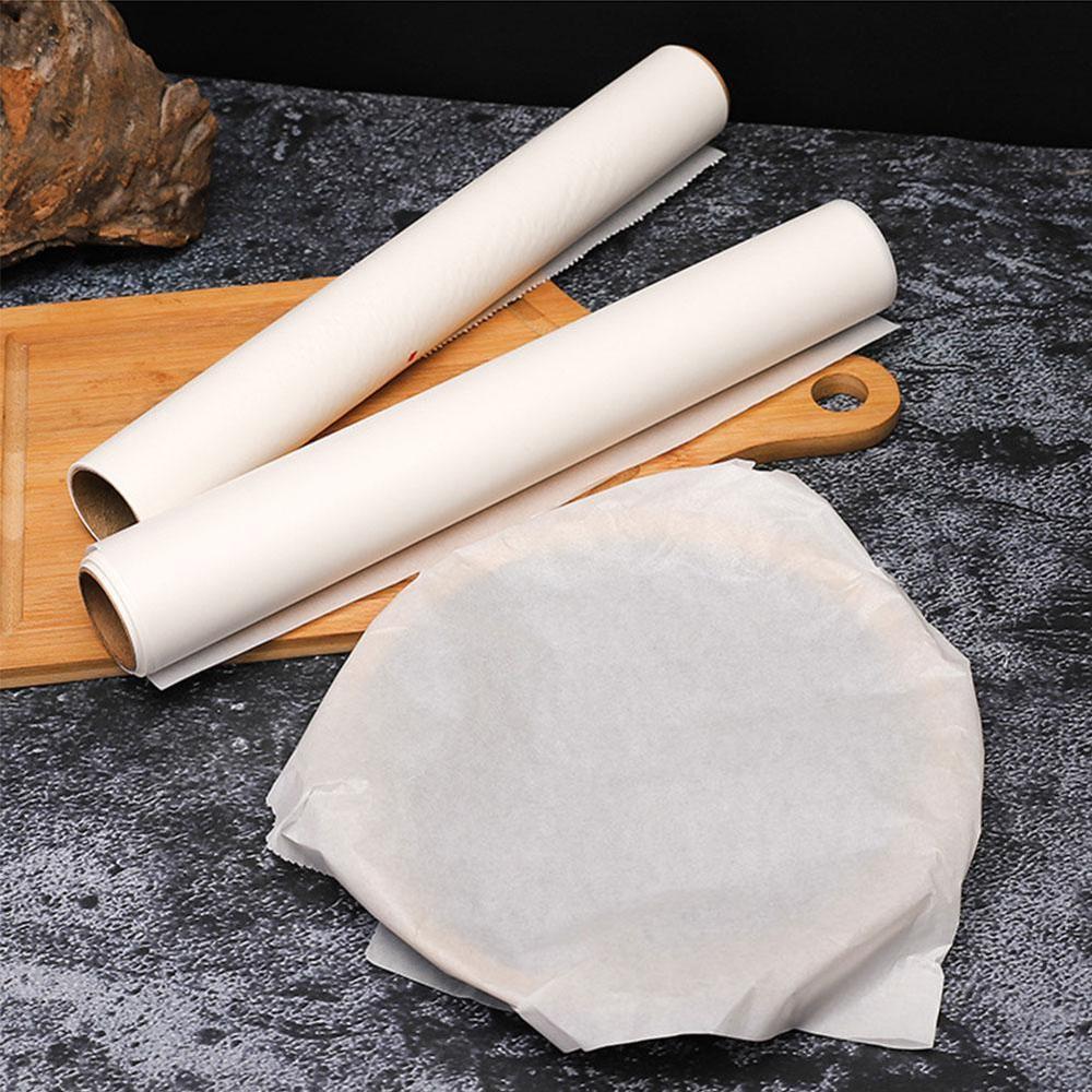 Papel de silicona para horno para el hogar de 5/10/20 mx30 cm, bandeja de papel para barbacoa, papel de aluminio, papel para hornear carne, antiadherente, absorción de aceite