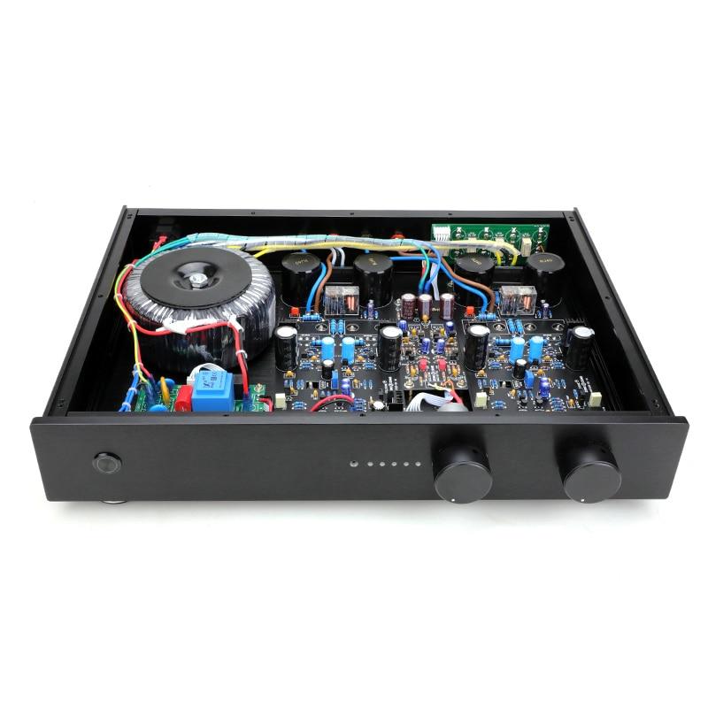 مكبر صوت مدمج NAIM NAC152 Preamp NAP200 75 واط + 75 واط 8 أوم 4 طريقة RCA مع جهاز تحكم عن بعد