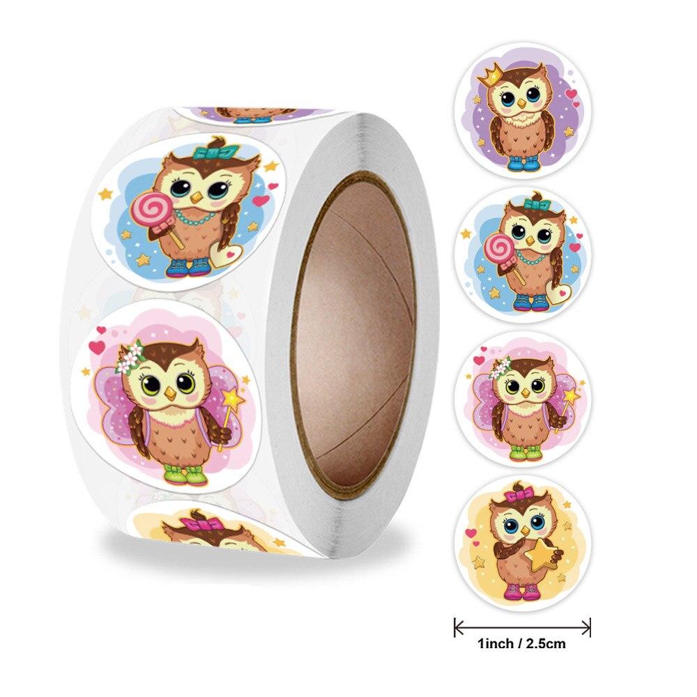 pegatinas-de-dibujos-animados-de-animales-para-ninos-pegatina-para-juguetes-varios-disenos-bonitos-de-buho-maestro-de-escuela-de-recompensa-para-pegatina-50-500-uds