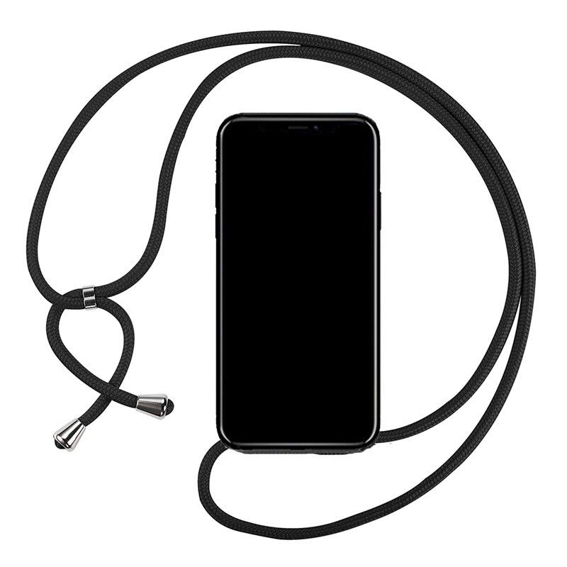 Caso Strap Cord Cadeia para Colar Cordão Coque para Huawei Huawei Honor 8A Pro Jat-LX1 Y6 Pro 2019