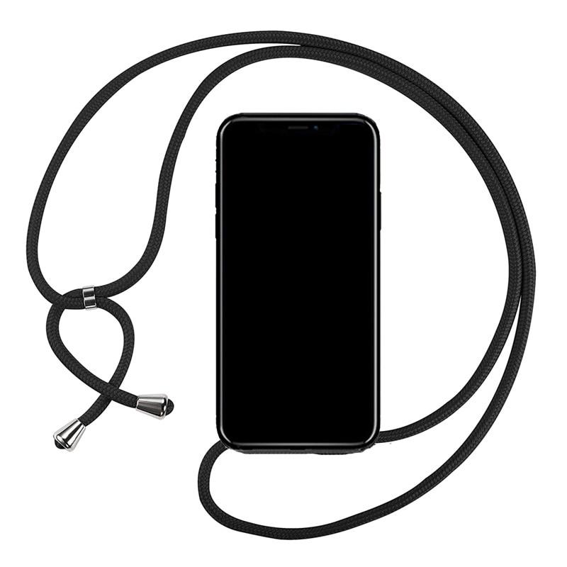 Correa cordón cadena teléfono cinta Cordón de cadena funda de teléfono móvil para llevar a colgar para XIAOMI MI A3 Lite /CC9 / CC9 Meitu