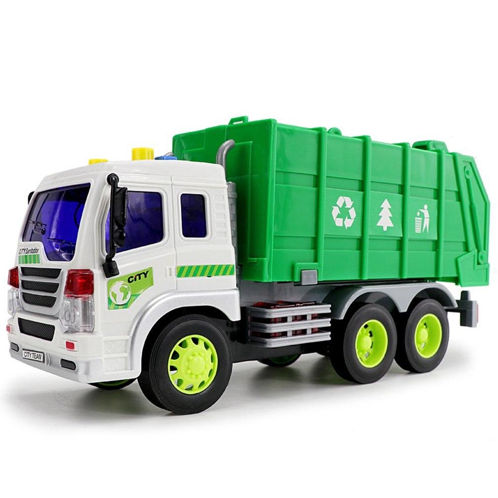 grande 1 16 caminhao de lixo bin caminhao luz som lixo reciclagem brinquedo carro