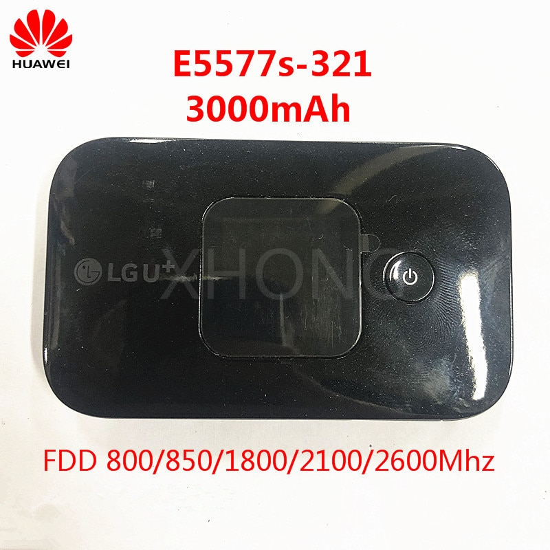 HUAWEI original E5577 4G LTE Cat4 150mbps E5577s-321 4G LTE Router 3000mAh Mobile Hotspot Wireless Router Pocket mifi PK  E5573