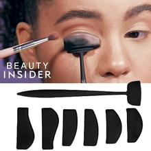 Eyeshadow Stencil Crease Line Kit Lazy Eyeshadows Fixer Portable Stamp Eye Shadow in Seconds Faultle