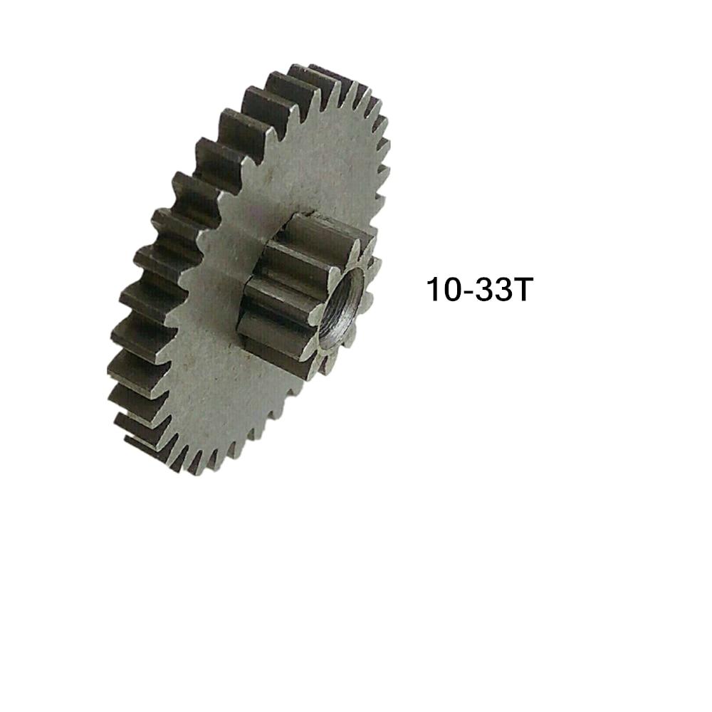 Doppel getriebe 10T-33T 4mm LOCH 0,7 M Reduktion variable Duplex getriebe A11
