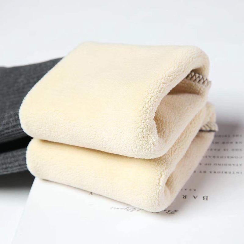 NORMOV Winter Women Leggings Keep Warm High Waist Legging Winter Stretch Lamb Cashmere Velvet Female Skinny Leggins Pants Women