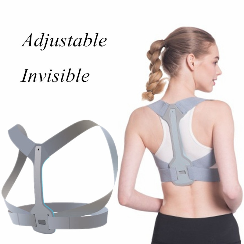 4 Types Adjustable Posture Corrector Brace Straightener Smart Correction Trainer Adult Hot Selling 2021  - buy with discount