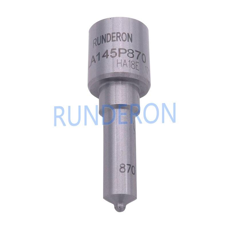 Boquillas de inyectores de combustible CR DLLA145P870 Common Rail para MITSUBISHI TRITON Pajero L200 1465A041 095000-5600 4D56