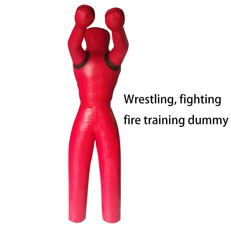 170cm High Weight 50-60kg MMA Wrestling Dummy Empty Shell Boxing Dummy Fire Training Dummy Boxing Punching Bag Training