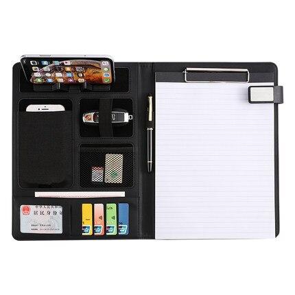 Настольный органайзер A4, держатель для телефона, папка для документов, портфель, сумка, деловой органайзер, планер, офисные ноутбуки, Пользо...