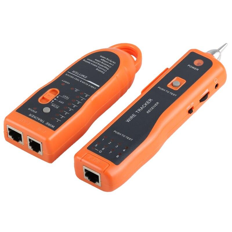 Probador de Cable de red LAN-Detector de línea Cat5 Cat6 RJ45 UTP...