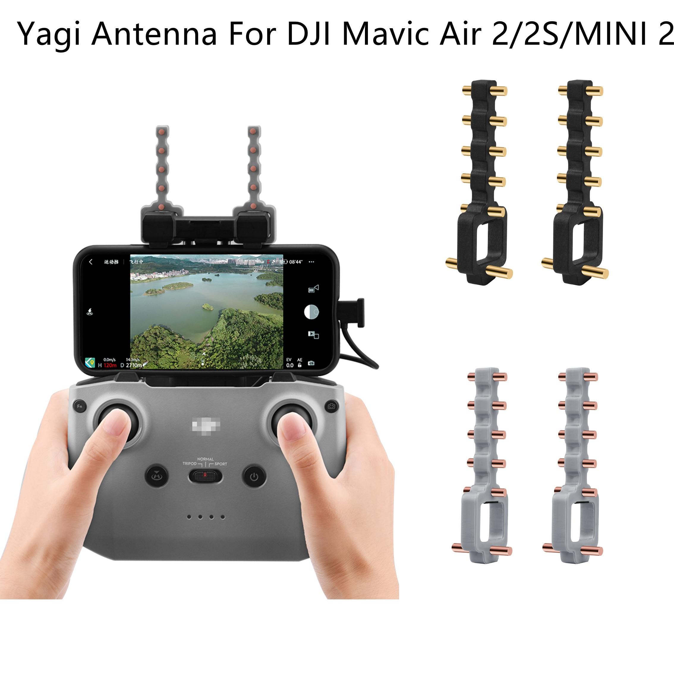Антенна Yagi для DJI Mavic Air 2/2S, 5,8 ГГц, пульт дистанционного управления, усилитель сигнала, расширитель диапазона, аксессуары для Mavic Mini 2 RC