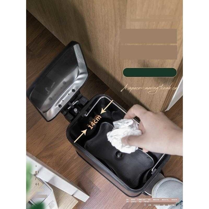 Raccolta Differenziata Vuilnisbak Zero Waste Car Oficina Papelera Bag Cubo De Basura Trashcan Recycle Lixeira Dustbin Trash Bin enlarge