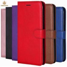 Luxe Eenvoud Leather Wallet Case Voor Samsung J1 2016 J2 Pro J4 Core J6 Plus 2018 J3 J5 J7 2017 flip Card Slots Stand Cover
