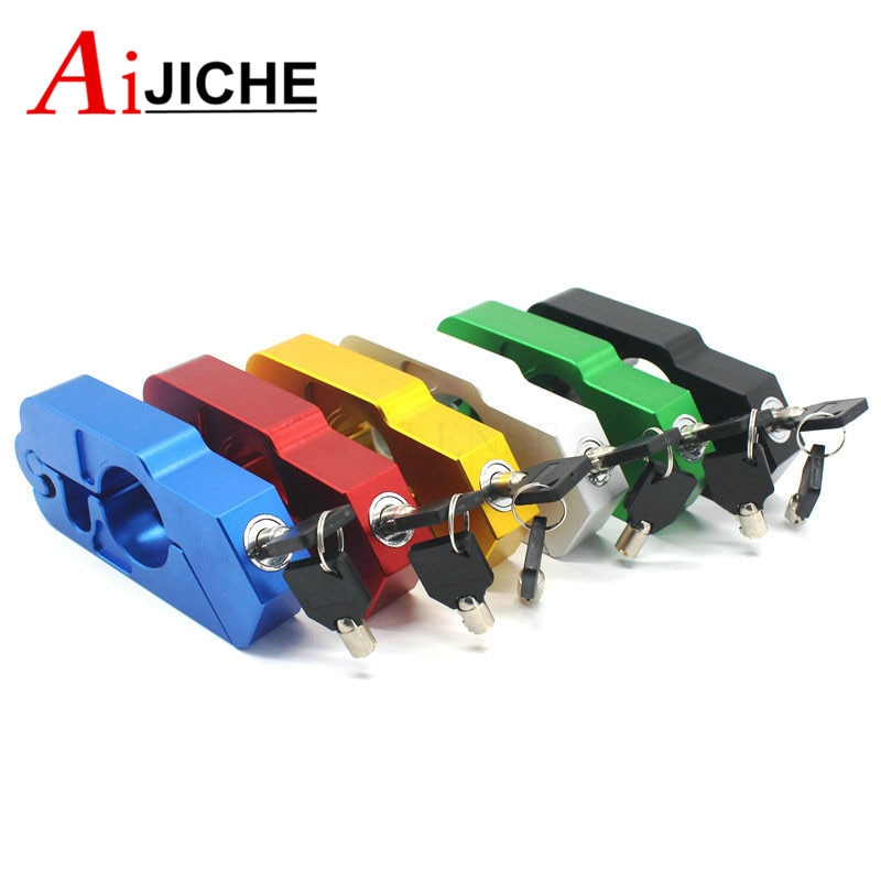 Motorcycle Handlebar Lock Brake Clutch Security Safety Theft Protection Scooter Locks For Yamaha T-MAX530 NMAX155 XMAX 300 enlarge