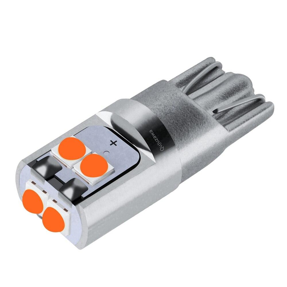 1PCS T10 W5W Hohe Qualität Super Helle Cree Chip LED Auto Wedge Parkplatz Birne Innen Lesen Dome Lampe WY5W auto Schalten Side Licht
