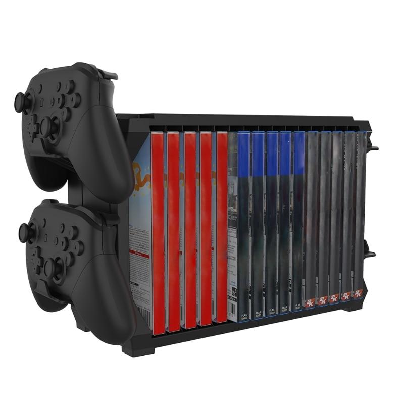 For Switch PS5 / PS4 / -XBOX S/X Series Disc Cuffie Rack di Archiviazione Suppor