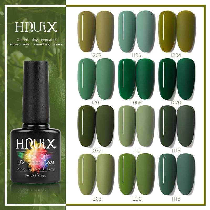 HNUIXTop-esmalte de uñas UV, mate, esmalte de uñas de Gel de colores,...