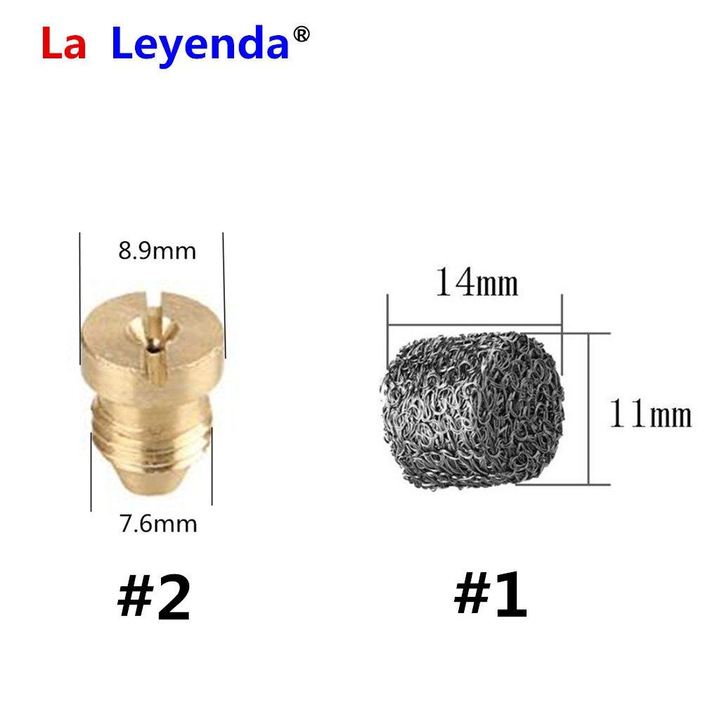 LaLeyenda, filtro de malla de acero inoxidable, tableta de espuma de 1,1mm, boquilla de espuma para nieve, cañón, cañón, pistola de jabón de lavado a alta presión