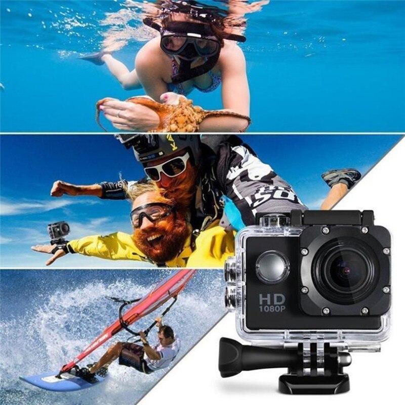 Cámara de Acción Full HD impermeable videocámara deportiva submarina 4K WiFi Control remoto deportes Video videocámara DVR piscinas