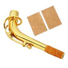 arrival 2pcs Natural Sax Neck Cork Sheet for Soprano /Tenor/ Alto Saxophone Musical Accessories