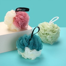 Bath ball super soft large color matching bath ball Korean bath ball rubbing back bath towel bath fl