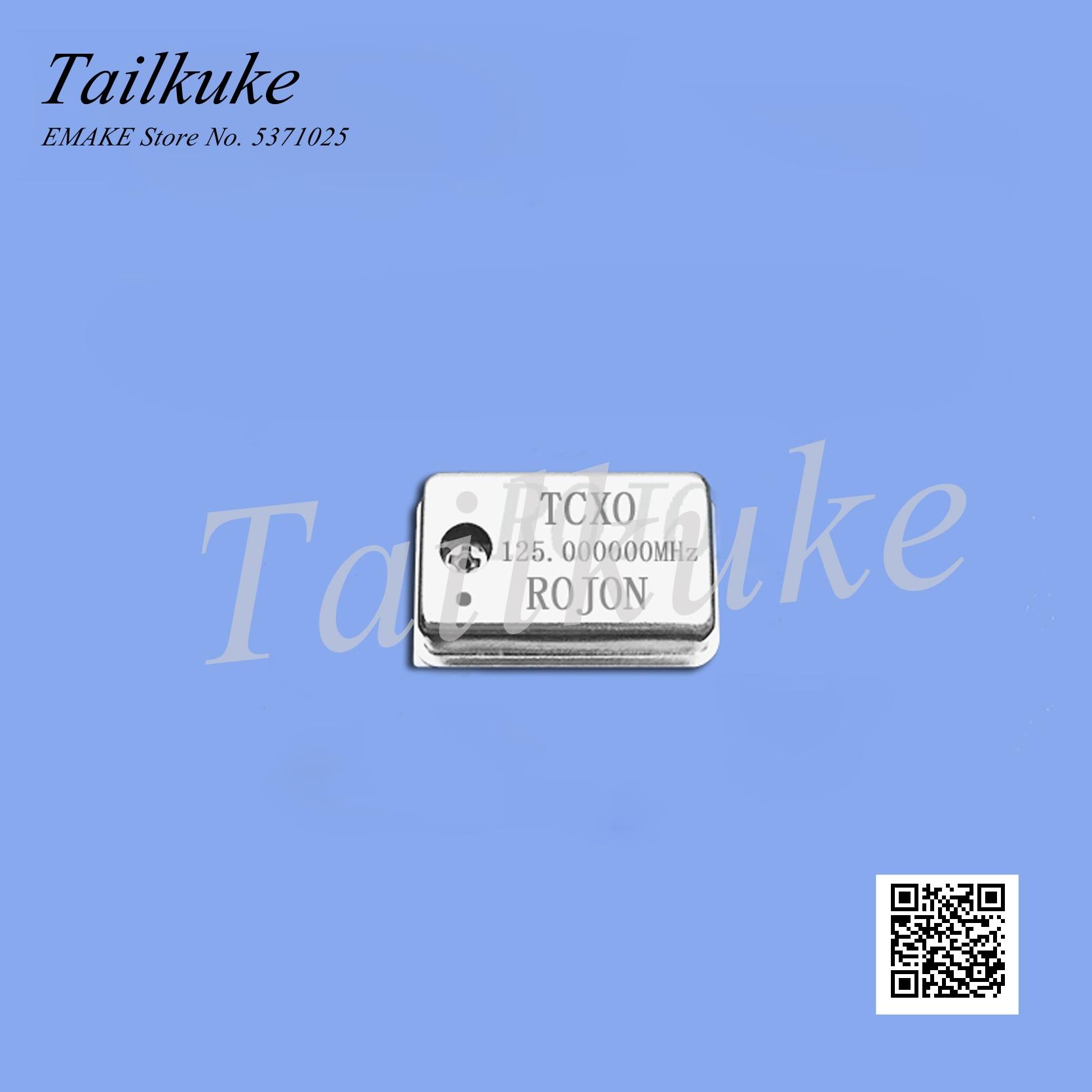 Tcxo alta precisión temperatura compensada oscilador de cristal Rojon 125MHz 0.1ppm reloj de alta estabilidad