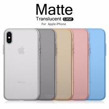 Ultra Mince 0.3mm Translucide Mat Pour iPhone X XR XS 11 Pro Max 6 6s 7 8 Plus SE 2020 Givré Lisse Couverture Rigide Mince