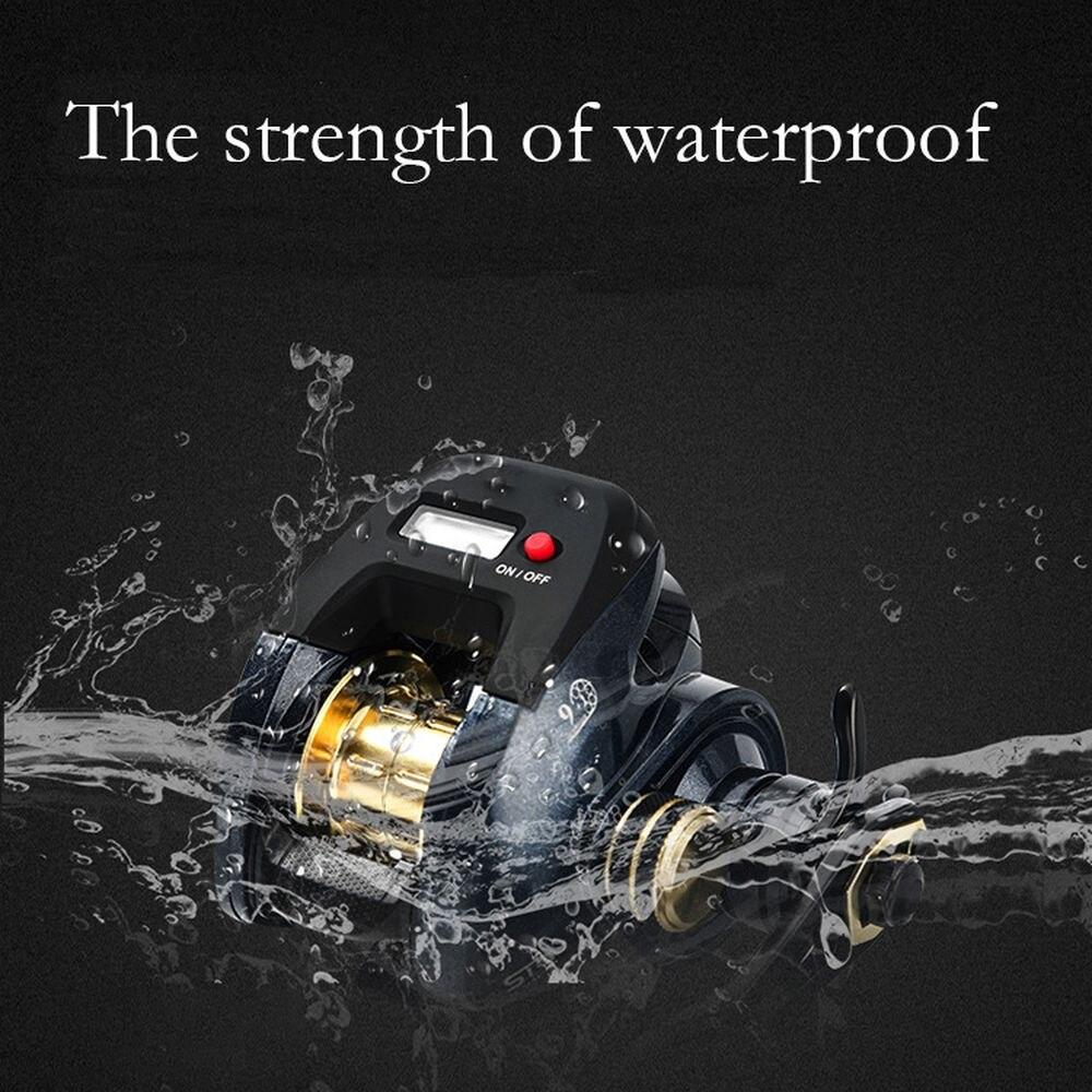 LED Backlit Digital Display Fishing Reel 9+1 Stainless Steel Spool Alloy Frame 7.3:1 High Speed Fishing Reel 10m Waterproof enlarge