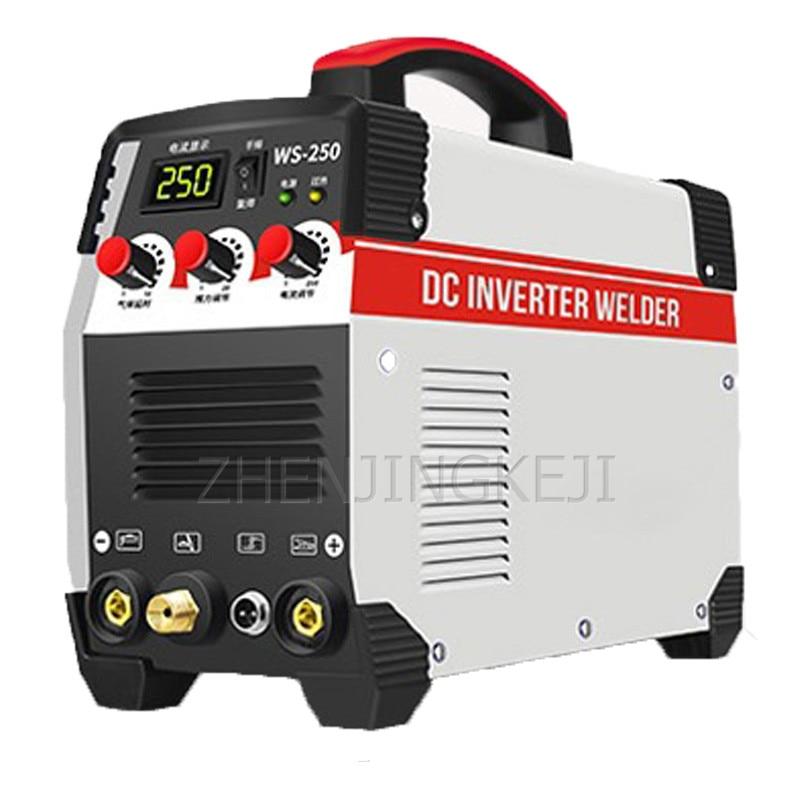 220V Electric Welding Machine Inverter Direct Current Electric Welding Argon Arc Welding 10-250 Stepless Adjustment 7500W