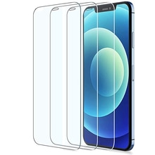 3Pcs Protective Tempered Glass For Iphone 12 Mini On Phone 11 Pro Max X XS XR 6 6s 7 8 Plus SE Scree