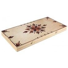 Backgammon gros incrusté