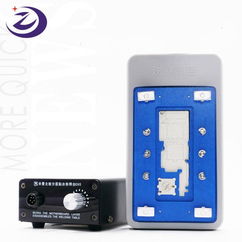 Nueva plataforma de soldadura en capas de placa base inteligente MIJING CH5 para IPHONE X/XS/XSMAX
