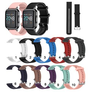 20mm Soft Silicone Strap Band for Haylou LS02