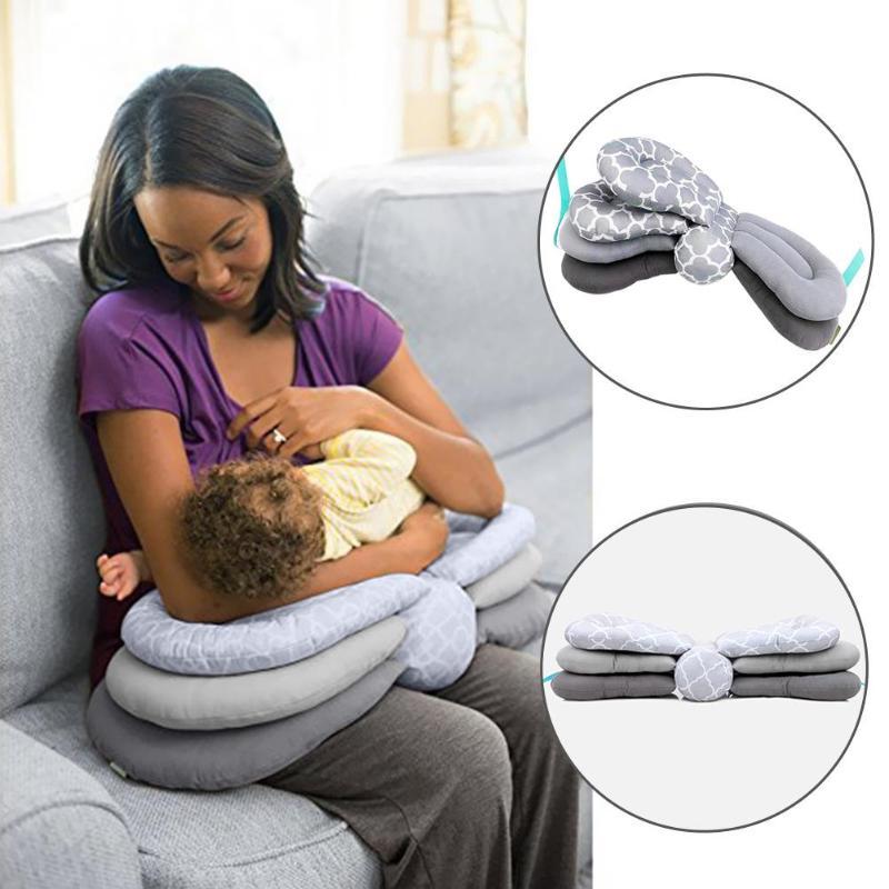 Amamentação do bebê pllillows multifuncional travesseiro de enfermagem ajustável infantil almofadas de alimentação do bebê acessórios de cama cuidados com o bebê