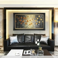 abstract flowers oil painting on canvas handmade modern wall art home decor hand painted picture bedroom office artwork unframed