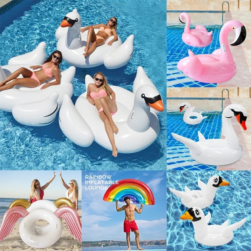 Плавающий водный гамак, надувное кресло для бассейна, аксессуары для детей, водные горки