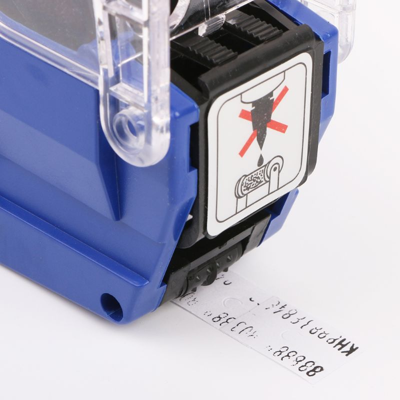 MX-6600 10 Digits Two-line Labeller Price Tag Label 2 Lines For Retail Store Pricing Tag Display Tool + Ink Roller