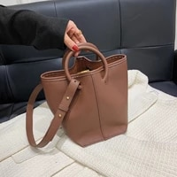 cross border fashion portable bucket bag2021new style western style ladies high quality luxury casual one shoulder messenger bag