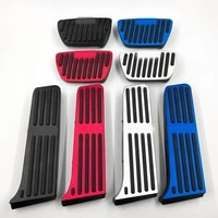 car throttle brake pedals interior accessories aluminum alloy non slip pedals for toyota camry avalon rav4 rong fang