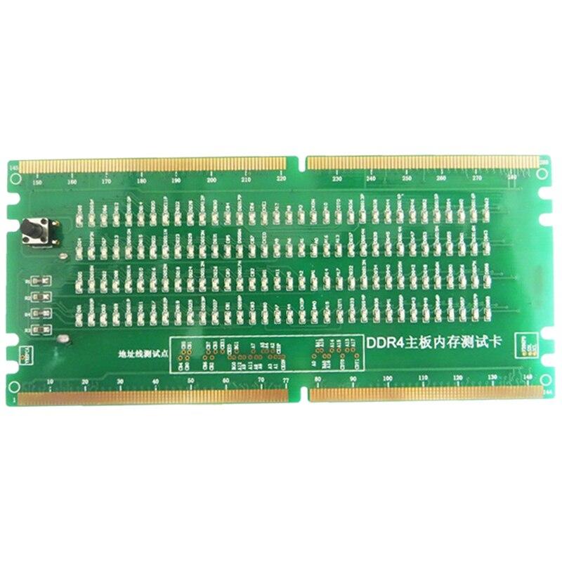 DDR4 tarjeta de prueba RAM ranura de memoria LED de escritorio placa madre reparación analizador probador